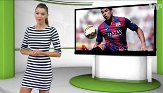 #dziejesiewsporcie: Luis Suarez został bramkarzem