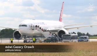 Nieplanowane lądowanie na lotnisku w Warszawie. Wszystko przez telefon komórkowy?