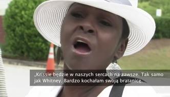 Afera na pogrzebie córki Houston. Ciotka oskarża Pat Houston o śmierć bratanicy