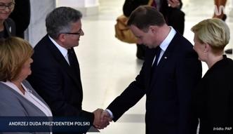 #dziejesiewpolsce: Andrzej Duda prezydentem Polski