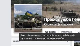 Ukraińska armia grozi użyciem artylerii przeciwko separatystom