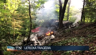Zderzenie dwóch sportowych samolotów na Słowacj