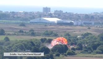 Katastrofa lotnicza w południowej Anglii
