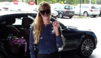 Paris Hilton pozdrawia polskich paparazzi!