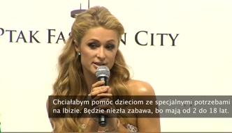 Paris Hilton: ciężko pracuję odkąd jestem nastolatką