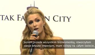 Paris Hilton: jestem biznesmenką, rządzę wielkim imperium