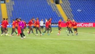 Trening Galatasaray Stambuł przed meczem z FK Astana