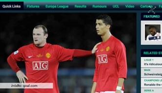 Ibrahimović: Całą czarną robotę wykonywał Rooney, a Ronaldo zbierał pochwały