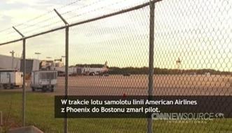 USA: pilot zmarł w trakcie lotu