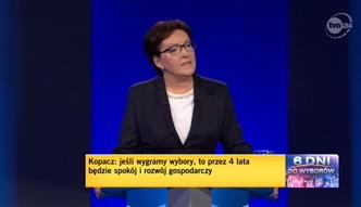 Kopacz w debacie: chcemy, by Zachód zagościł w kieszeniach Polaków