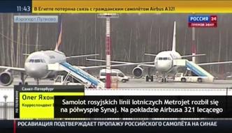 Rosyjski samolot rozbił się na Półwyspie Synaj. Egipskie służby: nikt nie przeżył katastrofy