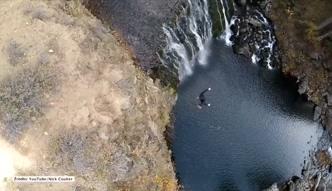 Niebezpieczny skok z 40 metrów