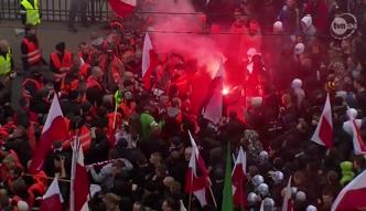Pierwsze zamieszki na Marszu Niepodległości