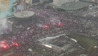 Tak wyglądał marsz narodowców w Warszawie
