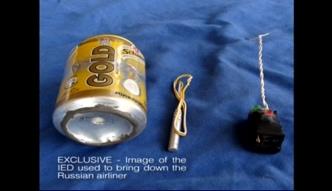 Oto bomba, którą IS wysadziło samolot nad Synajem