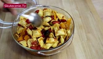 Zapiekane serowe ravioli z papryką [Skutecznie TV]