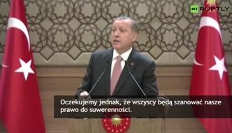 Prezydent Turcji nie zamierza przeprosić Rosji za zestrzelenie myśliwca