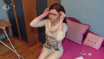 Dwudziestolatka ma czekać 14 lat na operację biodra