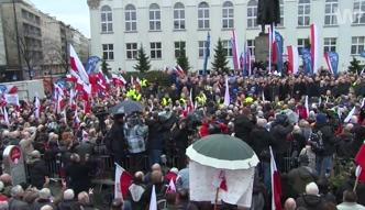 Marsz poparcia PiS.