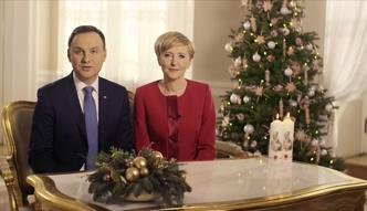 Świąteczne życzenia od Andrzeja i Agaty Dudy: