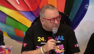 Owsiak o finale WOŚP: możemy licytować narty od Andrzeja Dudy, buty od Roberta Lewandowskiego