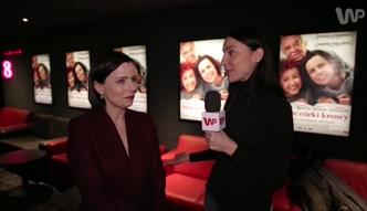 Agata Kulesza o sukcesie filmu ''Moje córki krowy''