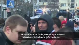 Masowe antyimigracyjne protesty w Kolonii! Doszło do starć z policją