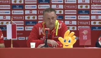 Michael Biegler po polsku dziękuje kibicom i chwali piłkarzy