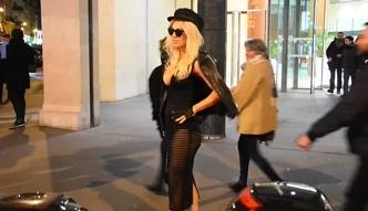 Doda pokazała majtki na Tygodniu Mody w Paryżu