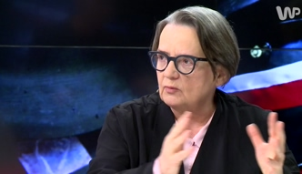 #dziejesienazywo: Holland: nie zrobiłabym filmu dla ministra Glińskiego, nie wolno przekłamywać faktów