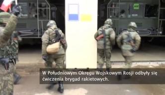 Rosyjskie brygady rakietowe ćwiczyły strzelanie z Iskanderów