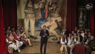 Duda tańczy w Zakopanem i mówi