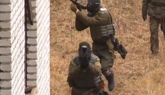 Ukraińska Gwardia Narodowa ćwiczy na poligonie według standardów NATO