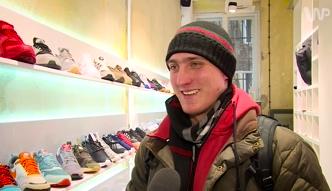 #dziejesienazywo: Przez kila dni koczowali, by kupić buty zaprojektowane przez Kanye Westa