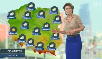Prognoza pogody na 25 lutego (plus dwa kolejne dni)