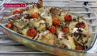 Pieczony kurczak w stylu włoskim [Skutecznie TV]