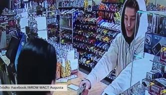 Wpadł z pistoletem do sklepu. Ekspedientka przegoniła go