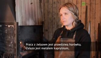 Jedyna kobieta kowal na Syberii