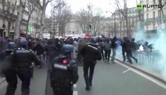 Protesty studentów w Paryżu