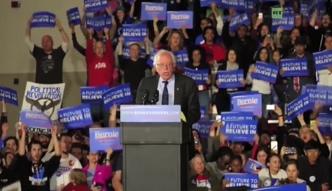 Bernie Sanders wygrał z Clinton na Alasce, w Waszyngtonie i na Hawajach