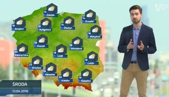Prognoza pogody na 13 kwietnia (plus dwa kolejne dni)