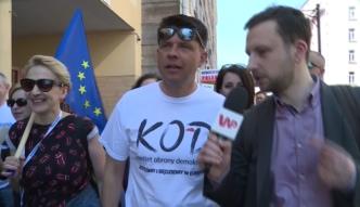 Ryszard Petru: czy ludzie nie czują tej obłudy? Koleżanka Kaczyńskiego mówiła, że flaga UE to szmata