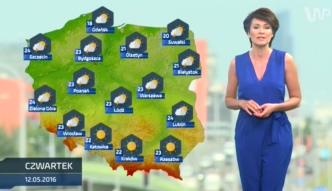 Prognoza pogody na 12 maja (plus dwa kolejne dni)