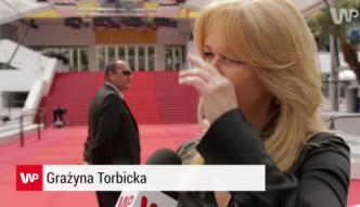 Grażyna Torbicka w Cannes: