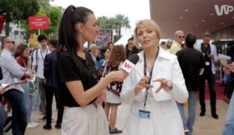 Agnieszka Jastrzębska w Cannes: gwiazdy w Cannes ciężko pracują, nie ma czasu balować