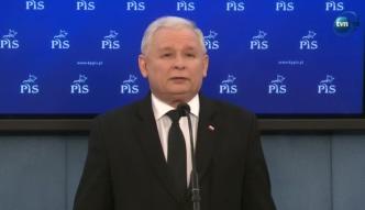 Kaczyński o Billu Clintonie: Jest w stanie, który trzeba zbadać metodami medycznymi