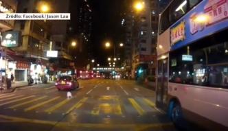 Dziewczynka potrącona przez taksówkę w Hongkongu