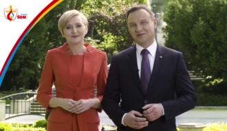 Andrzej i Agata Duda zapraszają na Światowe Dni Młodzieży po polsku