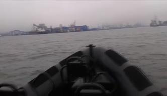"""Wieloryb w Zatoce Gdańskiej. Nagrali go marynarze z fregaty rakietowej ORP """"Kościuszko"""""""