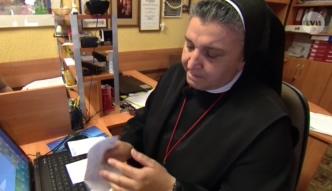 Siostra Michaela Rak pomaga potrzebującym na Litwie